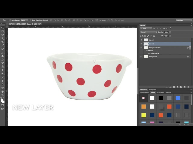 How to Cut Out a Product and Add a Shadow - Photoshop