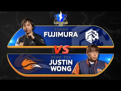 Fujimura (Ibuki) Vs Justin Wong (Menat) - Capcom Cup 2018 Top 8 - CPT2018