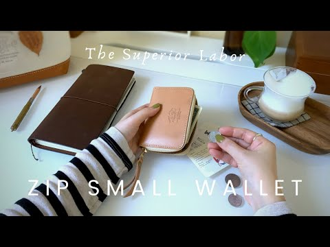 The Superior Labor Small Zip Wallet