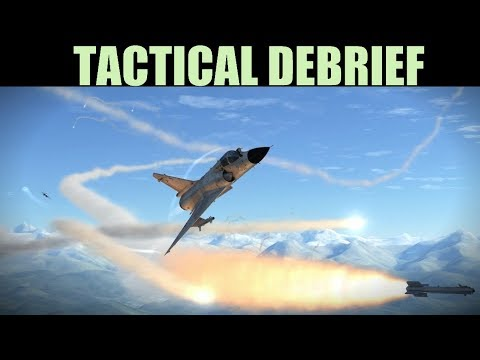 Close Range Mountain Missile Combat | Tactical Debrief | DCS WORLD