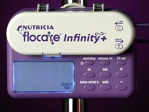 Flocare Infinity+ Enteral Feeding Pump- Alarms
