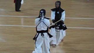 2018 세계검도선수권대회(17 wkc) men's invid.match semi-final KOR7 J.JO(조진용) VS KOR2 B.PARK(박병훈)
