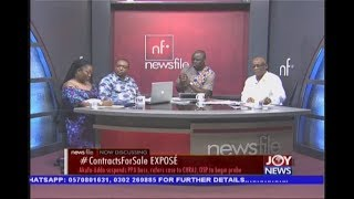 #ContractsForSale Expose' - Newsfile on JoyNews (24-8-19)