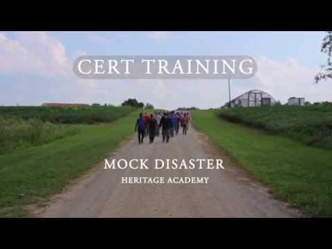 CERT Training Mock Disaster