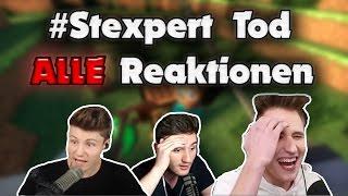 ALLE Reaktionen der Youtuber auf den #Stexpert Tod in Varo 4 in 5 Minuten!😱 GLP, Paluten, etc.