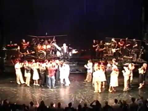 Movin Out on Broadway  Final Show Billy Joel sings at the curtain call