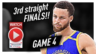 Stephen curry full game 4 highlights vs spurs 2017 playoffs wcf - 36 pts, 6 ast, back to the finals!