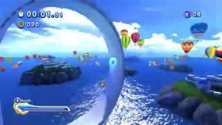 Sonic Generations - Water Palace (Speed Run)