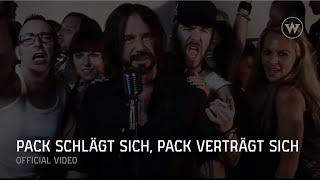 DER W (Stephan Weidner) -- Pack schlägt sich, Pack verträgt sich (Offizielles Video)