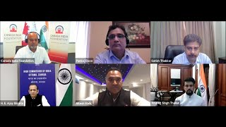 Webinar with Hon  Anurag Thakur, Minister of State for Finance & Corporate Affairs