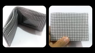 Boys wallet making at home