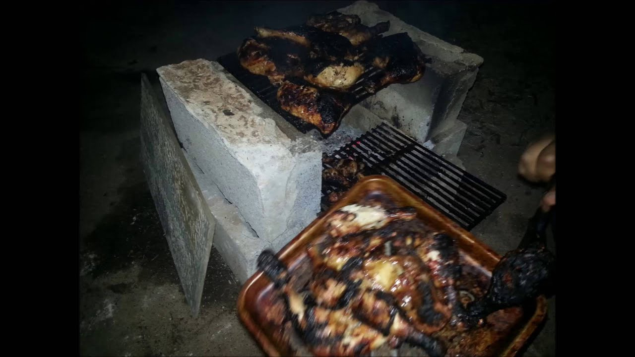 how to build a bbq pit with cinder blocks