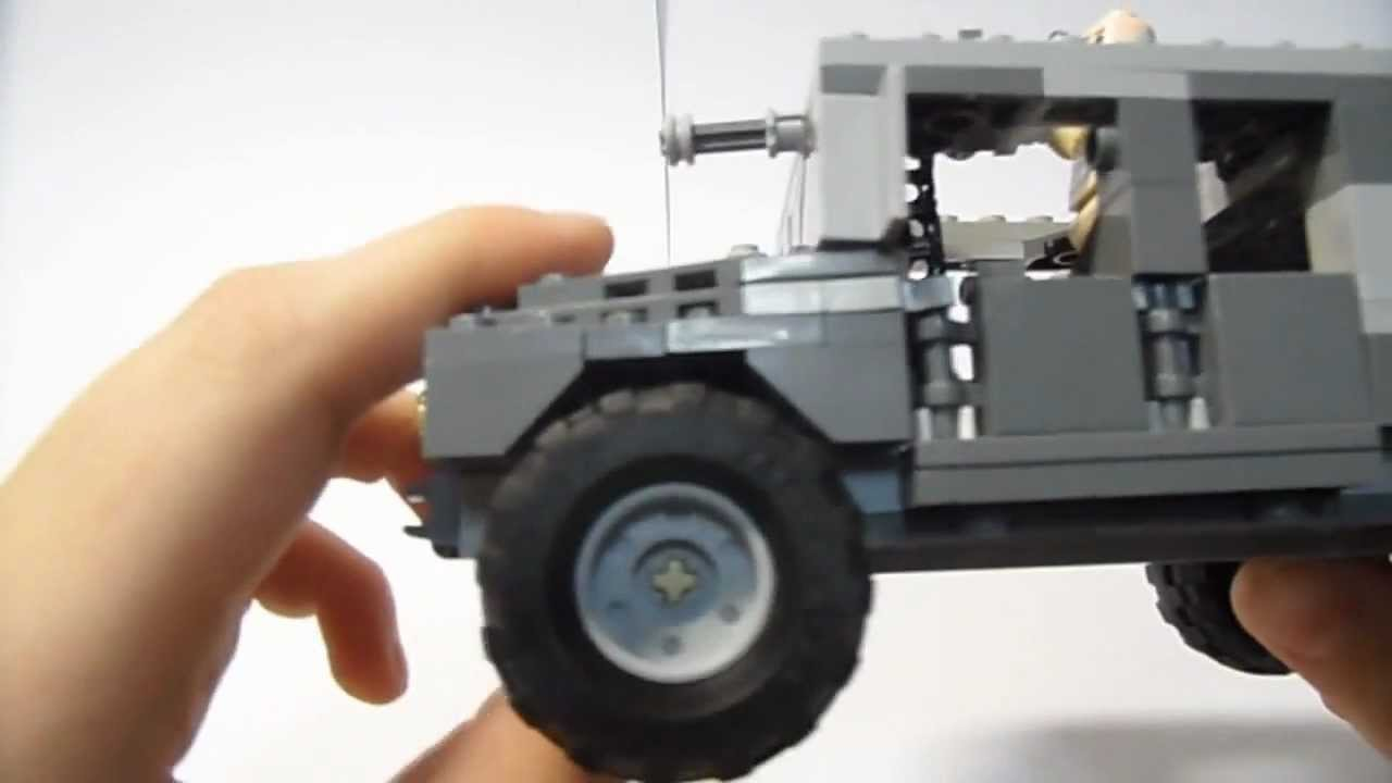 Lego Military Moc Humvee Gadgets Functions And Small