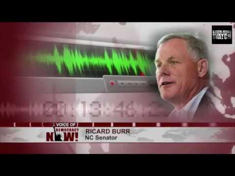 Senator Richard Burr Jokes About Assassinating Hillary Clinton