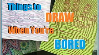 Things to Draw When You