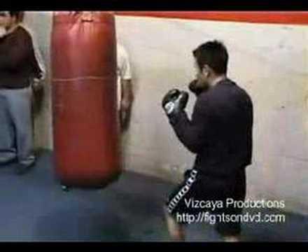 Marco Antonio Barrera Training