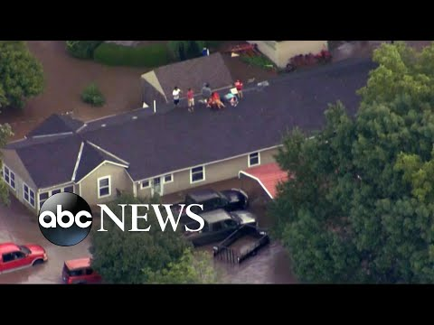 Flash flooding hits the heartland
