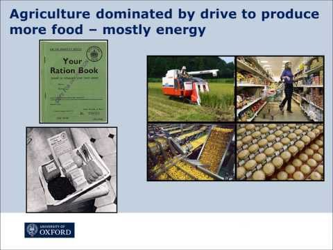 Oxford Martin Programme on the Future of Food Lecture 2013