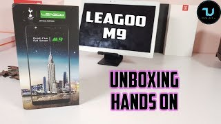 Leagoo M9 Unboxing&Hands on