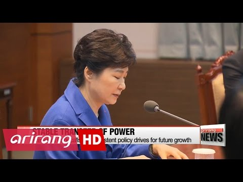 President Park meets with cabinet after impeachment decision