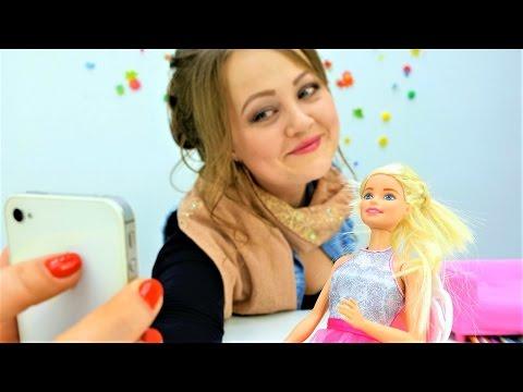СУПЕР видео про куклы: #одевалки, игры макияж и игры прически с #Барби. Игры для девочек