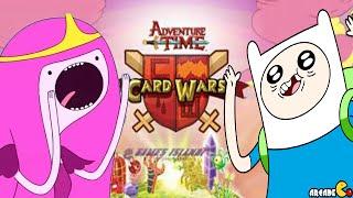Card Wars Adventure Time Card Game: Finn Vs Princess Bubblelgum! iOS/Android