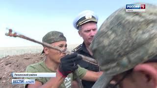Крымские поисковики подняли останки 36 красноармейцев