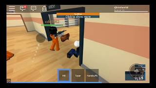 ROBLOX JAIL BREAK GAME ONLINE | RJB REAL WORLD