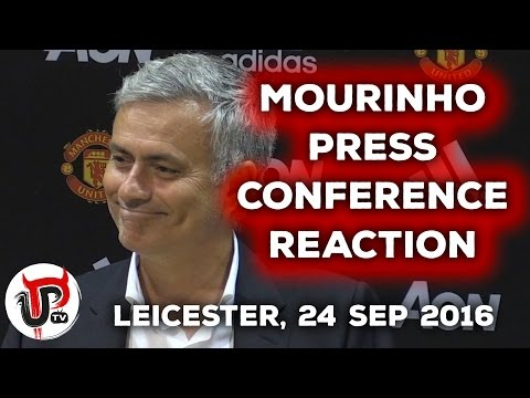 JOSE MOURINHO PRESS CONFERENCE REACTION |  LEICESTER CITY