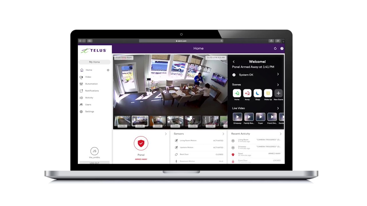 TELUS   Managing Recording Rules in the TELUS SmartHome Portal