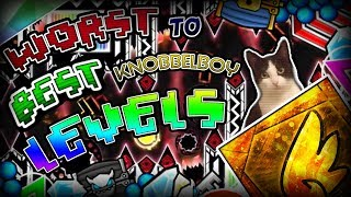 WORST To BEST Rated KNOBBELBOY Levels