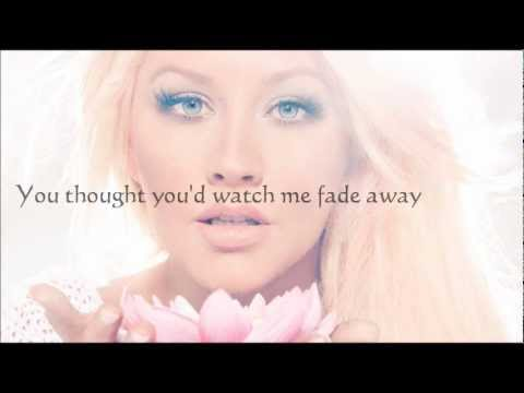 Army Of Me  Christina Aguilera Lyric