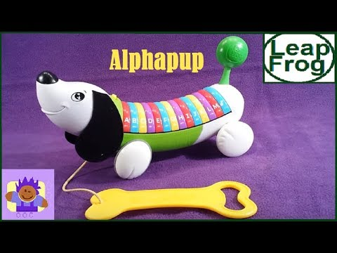 Leapfrog alphapup alphabet learning toy