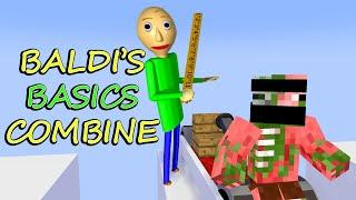 Monster School : ALL BALDI'S BASICS CHALLENGE - Minecraft Animation
