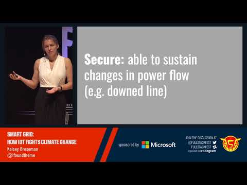 Smart Grid: How IoT fights climate change (Kelsey Breseman)