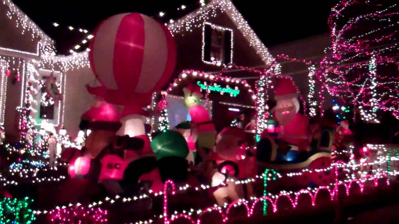 Christmas Lights At Butler Station Mauldin SC YouTube - Christmas Lights In Sc