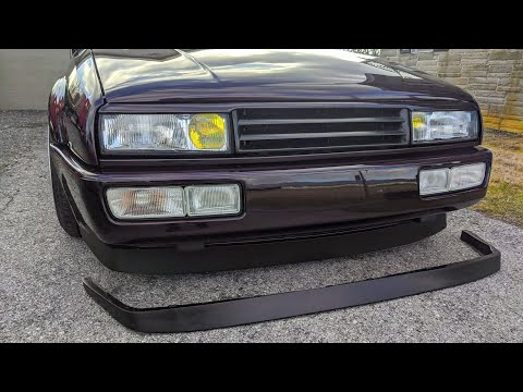 New Lip For The Corrado!  Spoonfedtuning 70mm