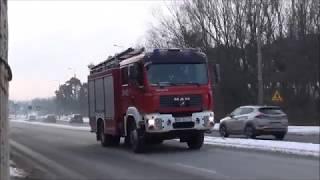 Pionki - Pożar samochodu dostawczego / 334[M]21 JRG 4 Pionki