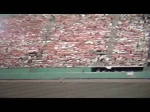 Carl Yastrzemski 472 Foot Home Run at Fenway Park!