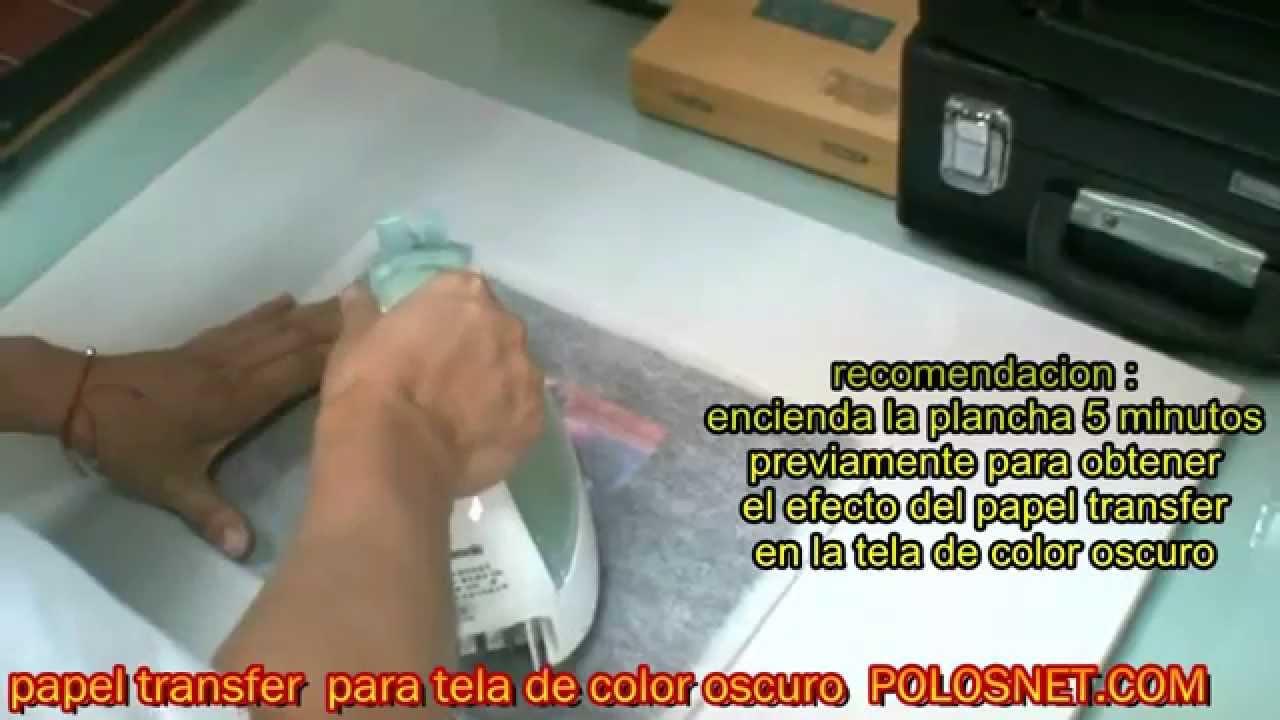 Video tutorial ganar dinero estampados con papel - Papel de transferencia para plancha ...
