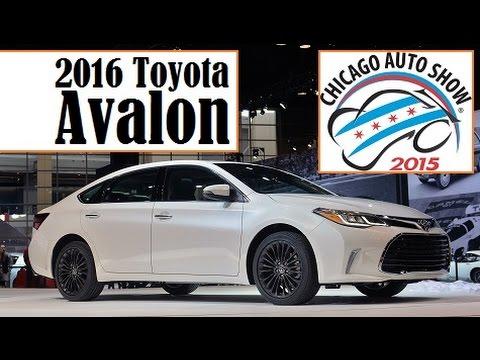 2016 Toyota Avalon  2015 Chicago Auto Show  Live Photos   YouTube