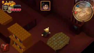 LEGO Harry Potter Year 1 Walkthrough # 8 [ PSP ] The Trophy Room