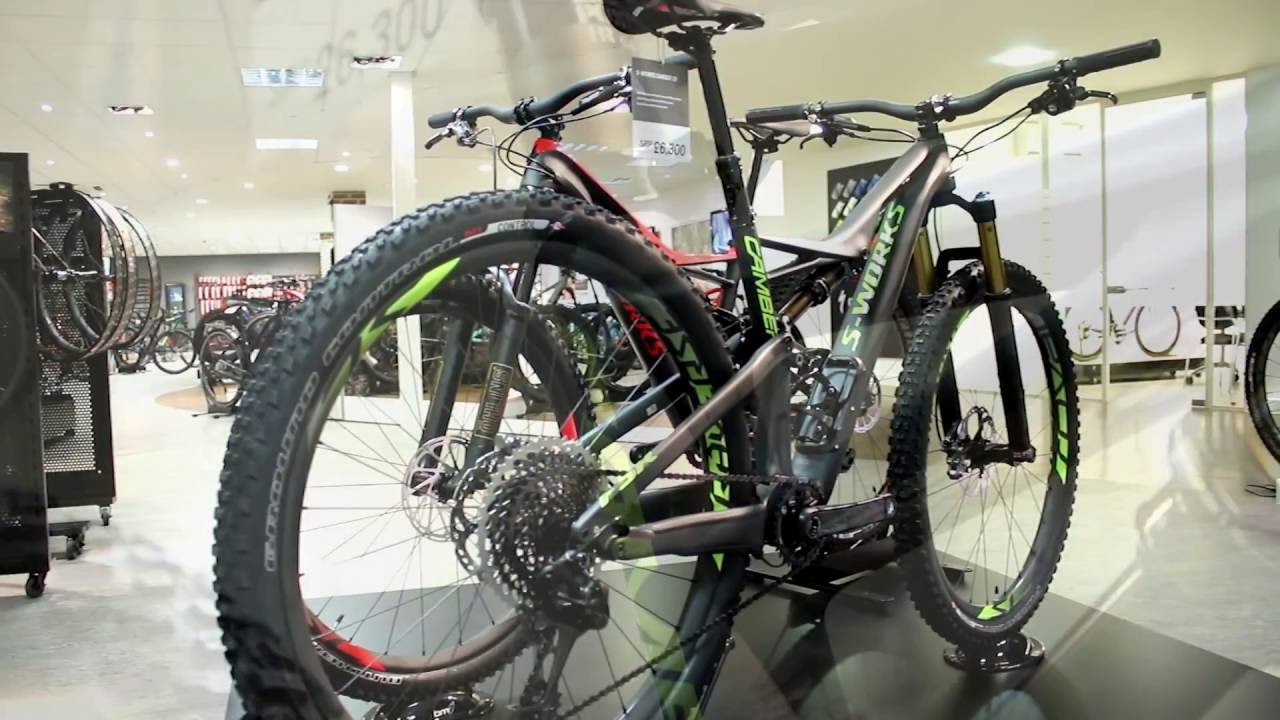 bbea4699fcd Specialized S-Works Camber FSR Mountain Bike 2017 - YouTube