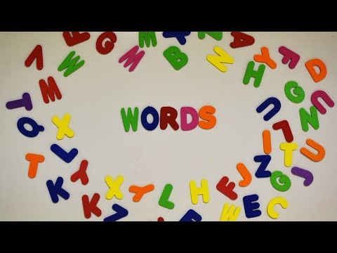 Word for Wednesday: Words