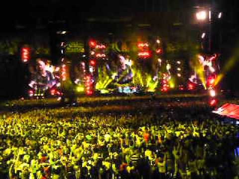 Yellow - Coldplay in Stade de France 2012