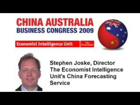 Stephen Joske - The Economist Intelligence Unit - Australia China Business Congress 2009