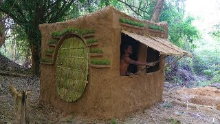 Primitive Tool : Update Mud House ( Build Door and window )