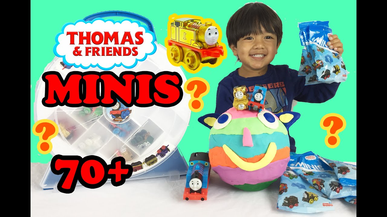 Ryan Plays With Thomas And Friends Surprise Minis Toy