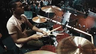 QUANDO ELE VEM - ANDRÉ AQUINO | ASU 2018 | Live Drums