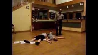 Othello, Act V, Sc. ii - Star Bar rehearsal